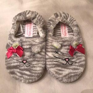 American Girl Bitty Baby Toddler Girl Cat Slippers
